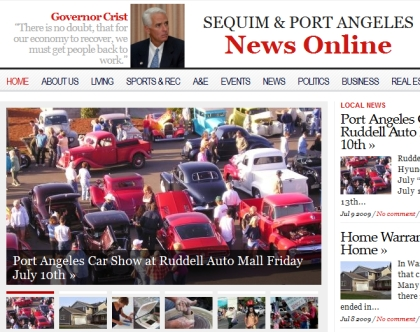 July - Port angeles car show
