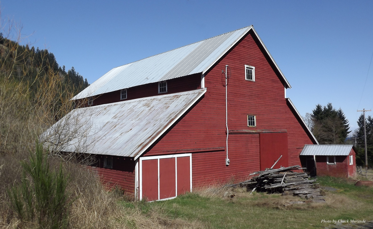 The Port Angeles Red Barn